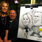 Event Caricatuture Artist - Rick Wright and Co.
