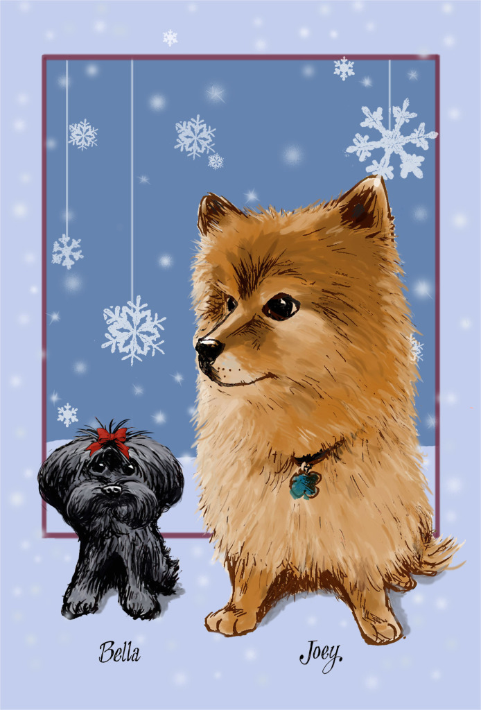 Doggie Xmascard FINAL 2014