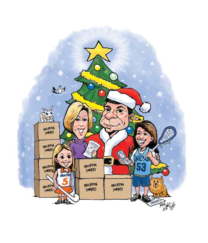 Holiday Cards | Caricatures By Rick